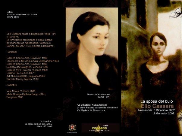 Elio Cassara – La Sposa Nel Buio – Print Work