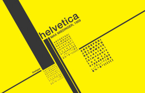 Everything about Helvetica
