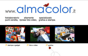 Web Design for Alma Color
